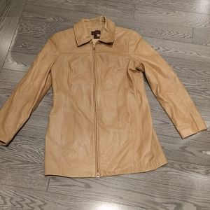 Women's genuine leather jacket by Danier